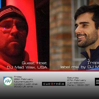 Bass Agenda 123: Guest Host DJ Mad Wax & Tropical Underground label mix by Marcelo K2