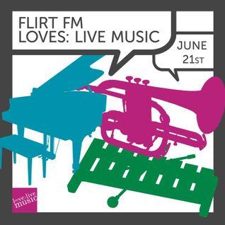 Flirt Loves: Live Music - Race The Flux