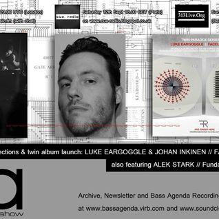 Bass Agenda 111: Luke Eargoggle/Faceless Mind Interview & Selections