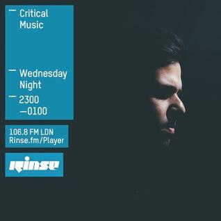 Critical Sound No. 25 | Rinse FM | Kasra | 04.11.2015