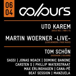 Dominic Banone @ COLOURS 06.04.2013 [Tanzhaus West, Frankfurt, Germany]
