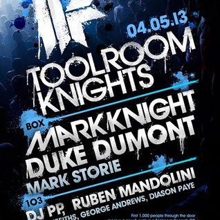 Mark Knight - Live @ Ministry of Sound (London) - 04.05.2013