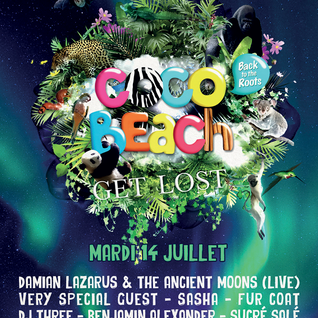 SASHA - LIVE FROM COCOBEACH PARIS - JULY 14TH 2015 - IBIZA SONICA