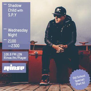 Rinse FM - Shadow Child w/ S.P.Y - 30th March 2016