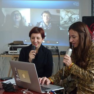 Polyphones 1 Online discussion - multiplex streaming with Cat Hope, Liz Dobson and Veronica Mota.