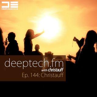 DeepTechFM 144 - Christauff (2016-06-23)