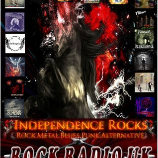 Independence Rocks first aired on 10th August 2016 - Contains a chat with Luke from Ulysses.