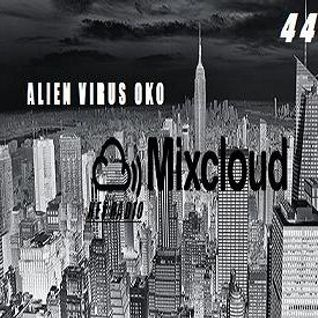 ALIEN VIRUS OKO for MIXCLOUD NET RADIO LEVEL 44 PODCAST 2015