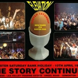 Fabio w/ MC MC & G Force - Elevation 'The Story Continues' - Roller Express - 10.4.93