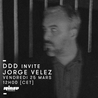 DDD invite Jorge Velez - 25 Mars 2016