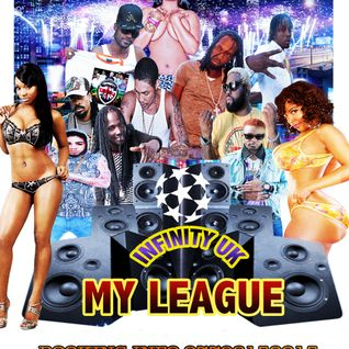 INFINITY UK CLEAN DANCEHALL MIX MY LEAGUE JULY 2015.