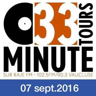 33 TOURS MINUTE - Le meilleur de la musique indé - 7 septembre 2016