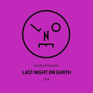 Sasha – Last Night On Earth 014 (June 2016)