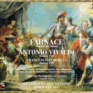 """""""FARNACE - SINFONIA - A. Vivaldi / F. Corselli (con Jordi Savall, live recording)"""