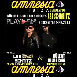 Bülent Billie Dee Meets Amnesia Resident Dj Les Schmitz play fm podcast mar.2013
