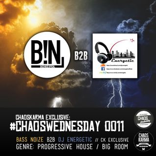 #CW 0011: BassNo!ze B2B Dj Energetic - CK Exclusive // PROGRESSIVE HOUSE