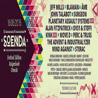 Perc & Truss @ Soenda Festival Edition - Zwembad Blauwkapel Utrecht - 16.05.2015