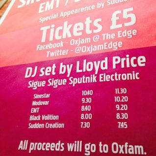 Oxjam @ The Edge Mixset - Lloyd Price
