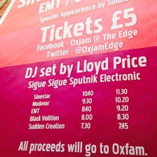 Oxjam @ The Edge Mixset - Lloyd Price