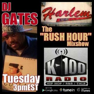 DJ Gates  3PM Rush Hour Mixshow (90's Hip Hop)