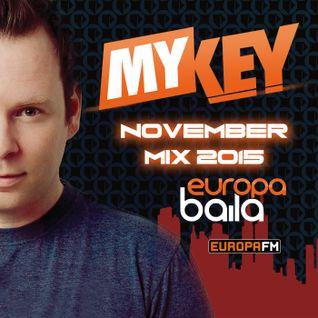 07-11-2015 Europa Baila Monthly Mix / Europa FM