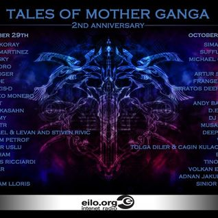 "guest mix for the second anniversary ""Tales of mother ganga"""