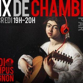 Mix de Chambre invite Frédéric Noël - Radio Campus Avignon - 05/12/12