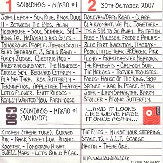 Soundhog - Mix90 #1 (30th October, 2007)