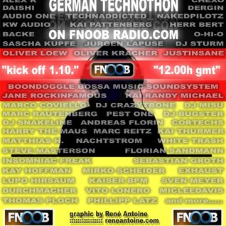 BACKE - twentyfour nine @ GERMAN TECHNOTHON on FNOOB TECHNO RADIO 2.10.11