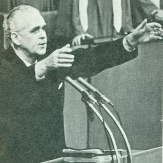 Dr. Lee Roberson preaching at Highland Park Baptist Church/Tenn. Temple  on Sept. 21, 1974.