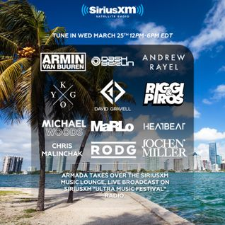 Michael Woods - Live @ Music Lounge, Miami Music Week - 25.03.2015