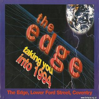 Slipmatt The Edge 'taking you into 1994' 15th Jan 1994