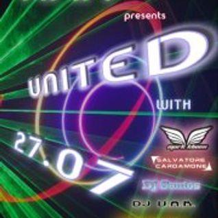 Dj Bluespark - T.F.F. pres. UNITED #004 27.07.2012