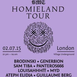 Brodinski - Mixmag Live & Bromance Records Present: BMC Homieland Tour (2015.02.07 - London)