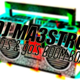 DJ MAESTRO - 80's & 90's BOOM BOX (Old School/Hip Hop/Rap)