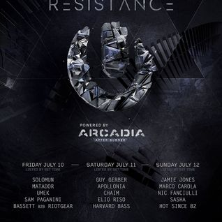 Apollonia - live at Ultra Europe 2015, Croatia (Resistance Stage) - 11-Jun-2015