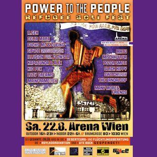 Nebula @ POWER TO THE PEOPLE - REFUGEE SOLI FEST -- Acid Hard Trance Set - 22/8/2015