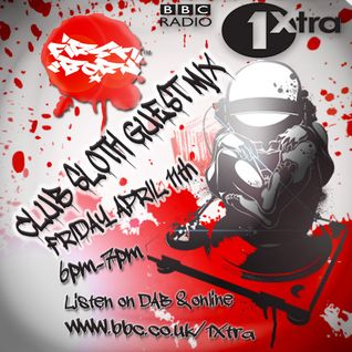 @DJ_FirstBorn Guest mix on BBC Radio 1xtras Club sloth