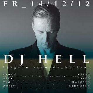 DJ Hell at Suxul Club - Ingolstadt (Part 2/2) [December 14, 2012]