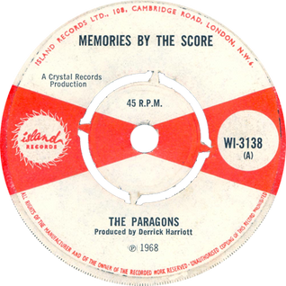 MEMORIES BY THE SCORE