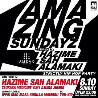 Amazing Sundayz Mix August 2014 Mixed By DJ Hazime, DJ Sah, DJ Alamaki