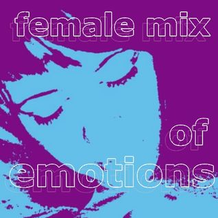 female mix of emotions