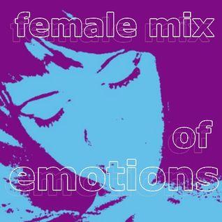 female mix of emotions