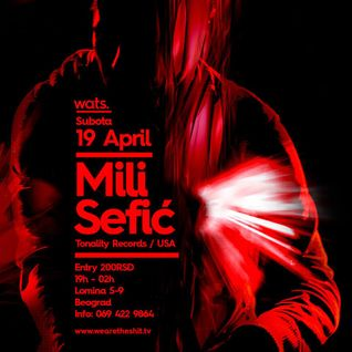 Mili Sefic - Live @ WATS - Belgrade (April 2014)