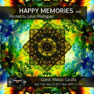 Matias Carafa @ Happy Memories radio show // TM Radio 13-4-2015