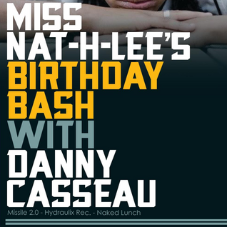 DJ-Set Danny Casseau 16-02-2013 at Nat-H-Lee's B-day Bash