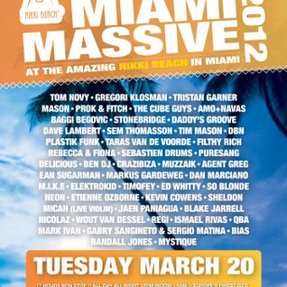 Etienne Ozborne - Miami Massive 2012 at Nikki Beach, WMC 2012 (20-03-2012)