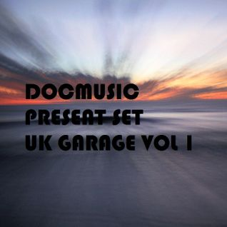 DOCMUSIC@SPECIAL SET UK GARAGE VOL 1 (Dicembre 2014)