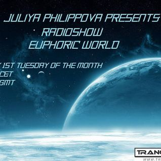 Juliya Philippova - Euphoric World 008 on trance.fm (Jan 05, 2016)