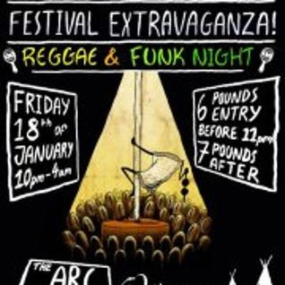 Cut La Vis @ Mocha Focha Extravaganza - 18th January 2013 - Arc Bar Bristol